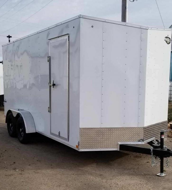 2020 Impact Trailers 7 x 16 Quake Enclosed Cargo Trailer