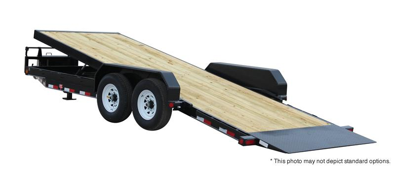 2021 PJ Trailers 24' Powered Full Tilt Trailer