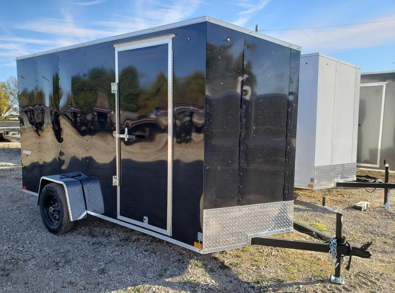 2021 Impact Trailers 6 x 12 Quake Enclosed Cargo Trailer