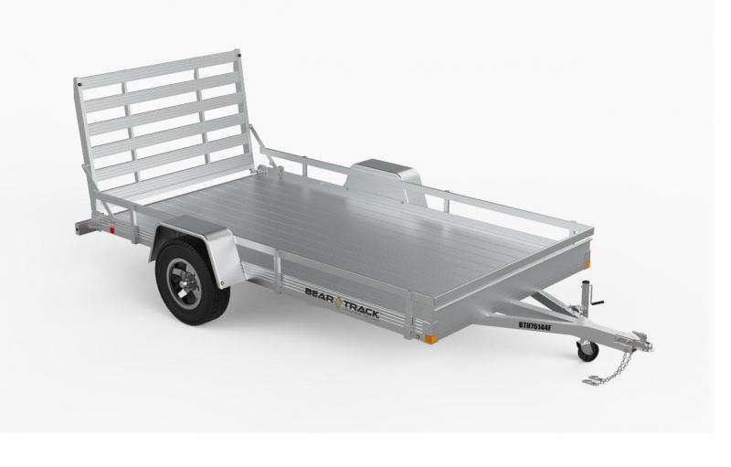2021 Bear Track 76 x 120 Aluminum Utility Trailer