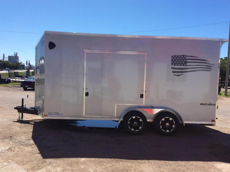 2021 Impact Trailers 7x18 Shockwave ITS Enclosed Cargo Trailer