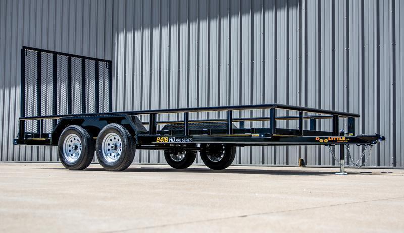 2022 Doolittle Trailer Mfg 84 x 16 Tandem Axle Utility Trailer