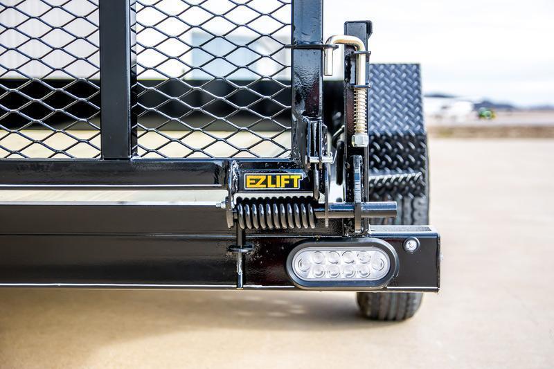 2022 Doolittle Trailer Mfg 77 x 12 Single Axle Solid Side Utility Trailer