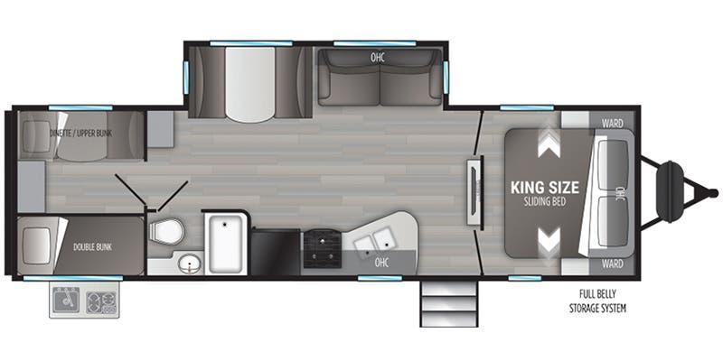 2021 Cruiser RV MPG Ultra Lite 2800QB Travel Trailer