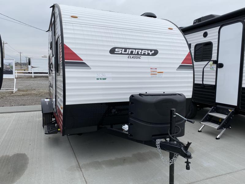 2021 Sunset Park RV Mfg. Sunray 149 Travel Trailer