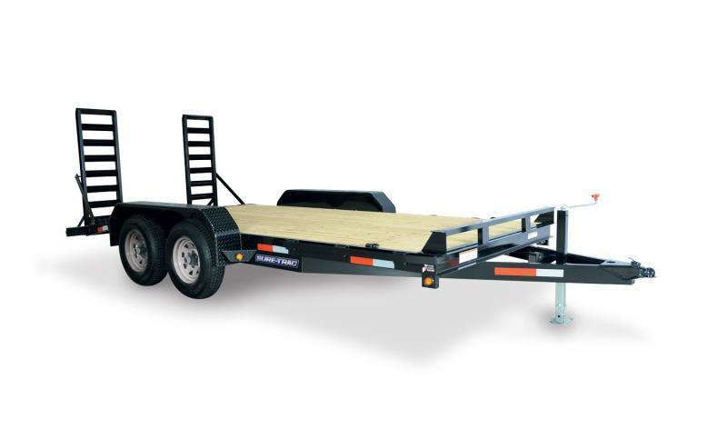 2020 Sure-Trac 7x20 14K Equipment Trailer Equipment Trailer