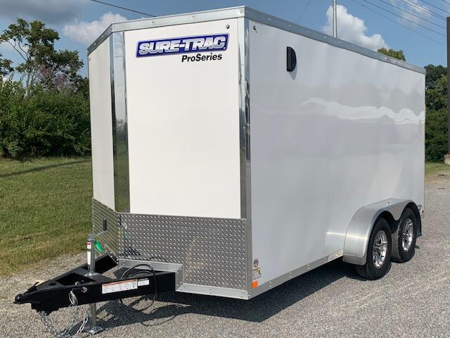 2021 Sure-Trac 7 x 14 Pro Series Wedge Cargo Trailer
