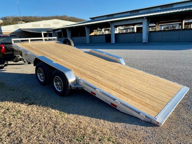 2021 Sure-Trac 7x20 Aluminum Power Tilt Car Hauler Trailer