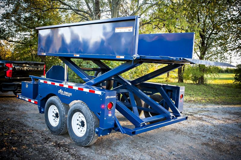 2021 Air Tow DH-10 Dock Height Equipment Trailer