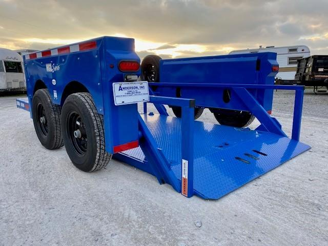 2020 Anderson Manufacturing HGL-7610 Equipment Trailer