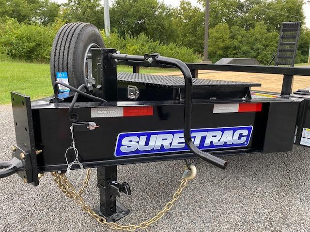 2021 Sure-Trac 8.5 x 20 (17+3) Full-Width Equip Trailer