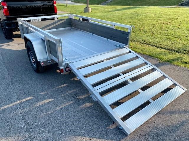 2022 Sure-Trac 5x8 Aluminum Tube Top Utility Trailer