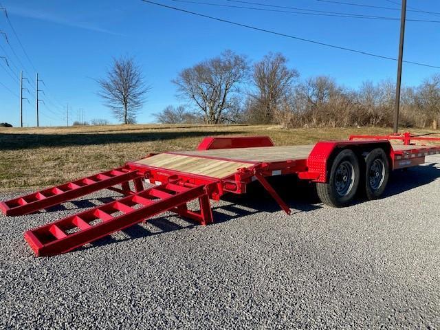 2021 Sure-Trac 7x18 (16+2) Equipment Trailer 14K