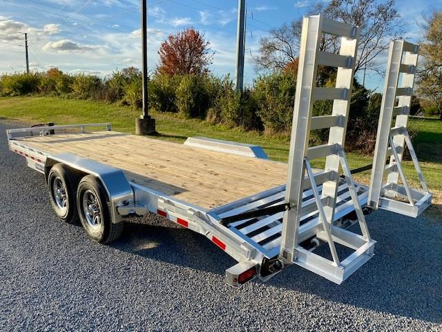 Sure-Trac 7x20 14K Aluminum Equipment Trailer