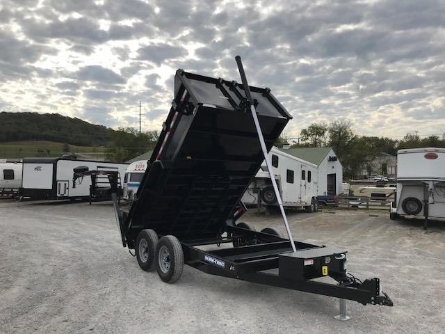 2022 Sure-Trac 82x14 Telescopic Dump Trailer 14K