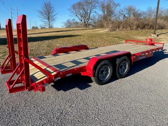 2021 Sure-Trac 7x20 (18+2) Equipment Trailer 14K