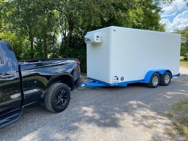 Polar King 6x16 Refrigeration/Freezer Trailer