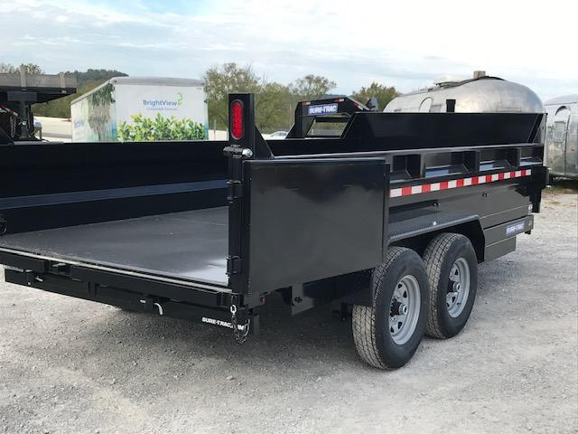 2021 Sure-Trac 82 IN x 16 HD Low Profile Dump Trailer