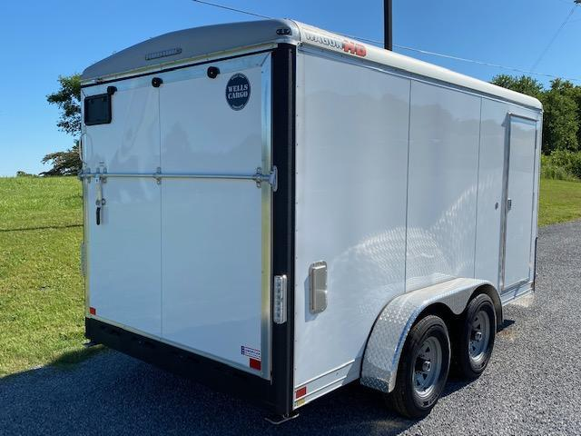 2020 Wells Cargo HD 7x14 10K Enclosed Cargo Trailer