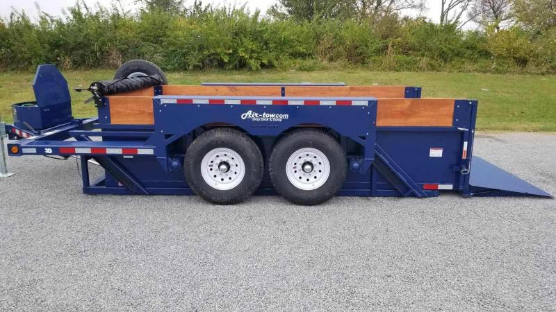 2021 Air Tow 3D-12 Drop-Deck/Dump Dump Trailer