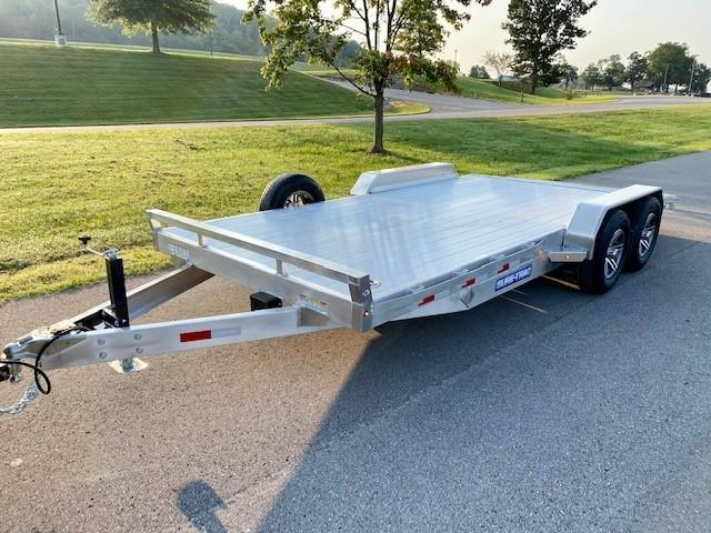 2022 Sure-Trac 7x18 (14+4) C-Channel Aluminum Car Hauler Car / Racing Trailer