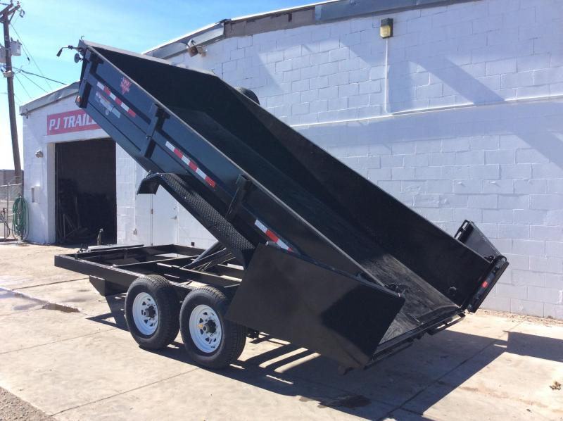 2019 PJ Trailers 83 in. Tandem Axle Dump (D7) Dump Trailer