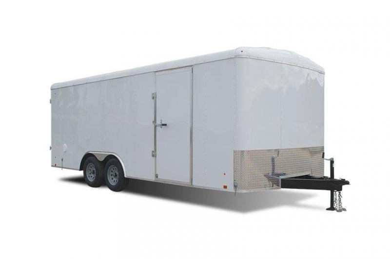 2019 Cargo Express EX DLX Series 8.5' Enclosed Cargo Trailer