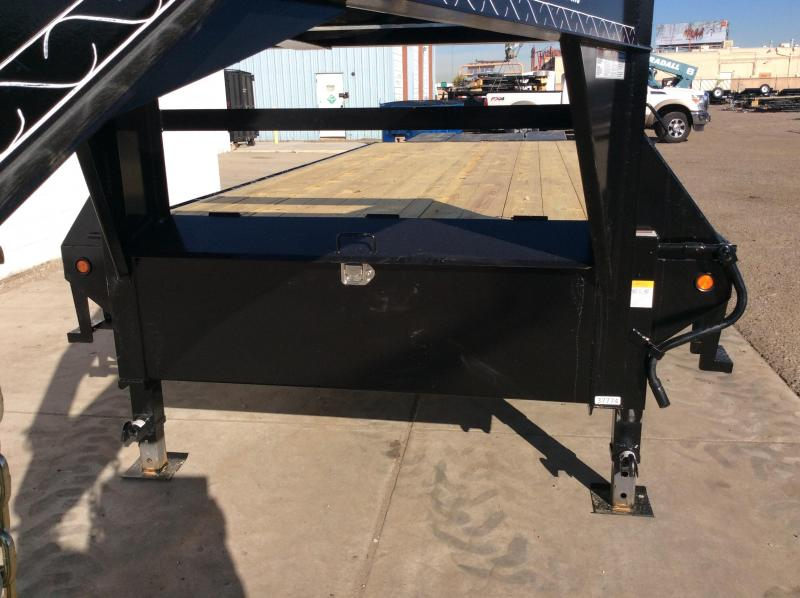 2019 Lamar 28ft Heavy Duty Deck-Over Flatbed (FS)