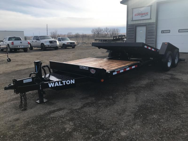 2021 Walton Trailers SST1422 TILT DECK Utility Trailer