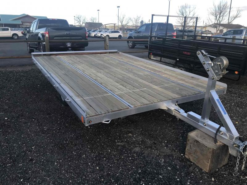 2019 Mission 2 PLACE 12' RAFT/SLED COMBO Snowmobile Trailer