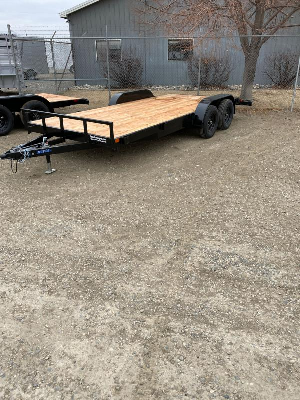 2022 S&S Manufacturing 18' BP Utility Trailer