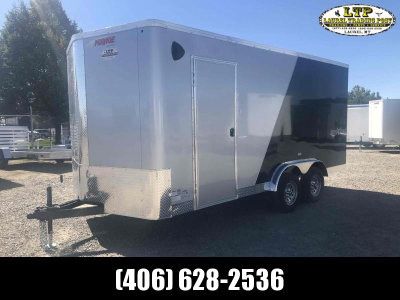 2021 Mirage Trailers XPRES 7.5 X 16 SXS PKG Enclosed Cargo Trailer