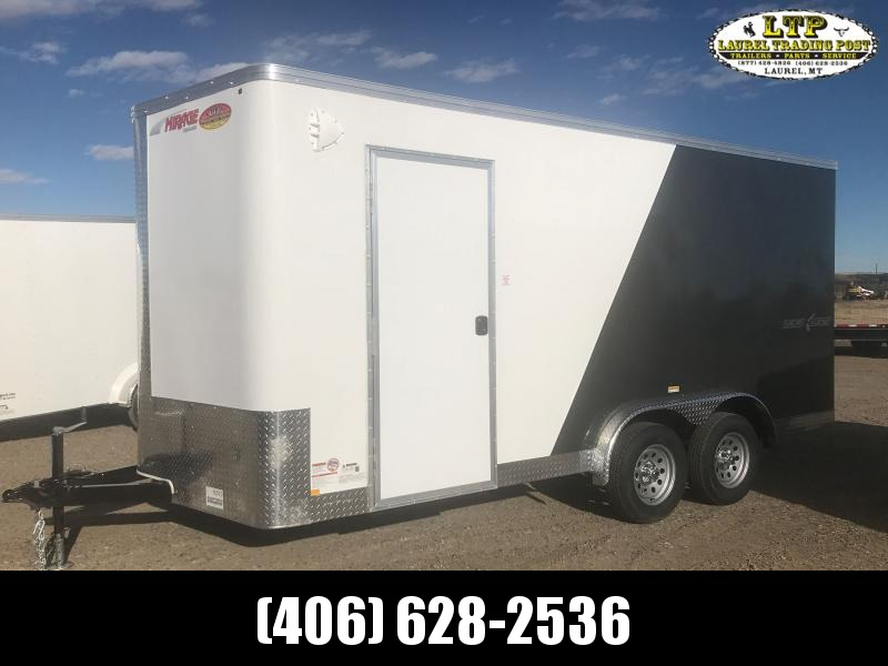 2021 Mirage Trailers XPRESS 7.5 X 16 SXS Enclosed Cargo Trailer