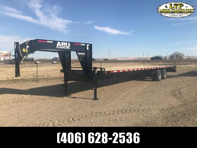 2021 ABU 36' GN DUALLY Flatbed Trailer