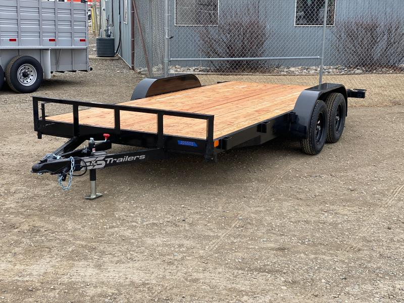 2022 S&S Manufacturing 16' BP Utility Trailer