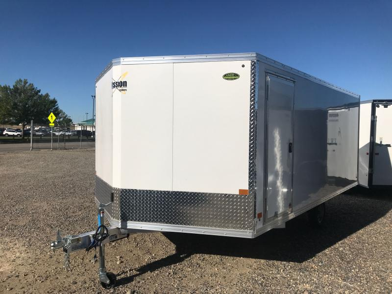 2021 Mission CROSSOVER 14' Snowmobile Trailer
