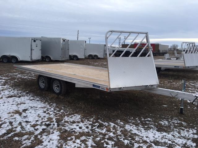 2019 MISSION TRAILERS 16' DRIVE ON DRIVE OFF SNOW TRAILER