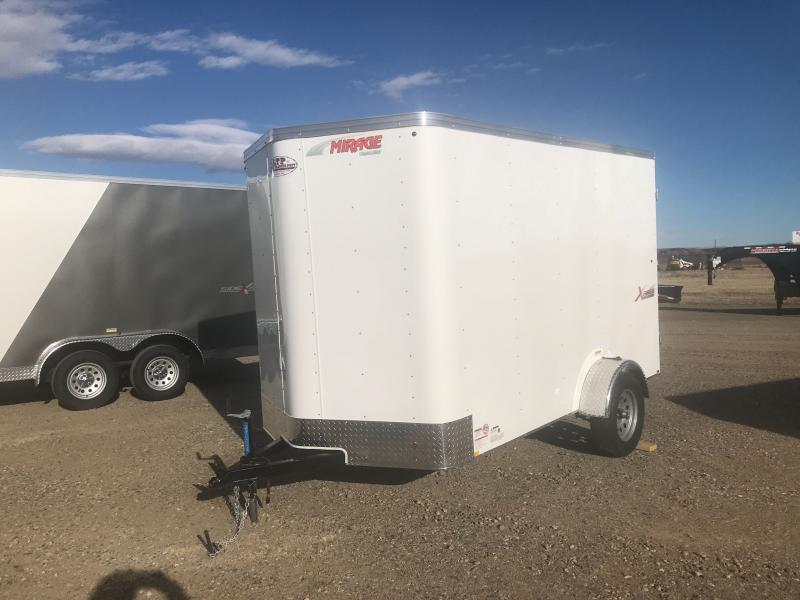 2021 Mirage Trailers 6 X 10 V Enclosed Cargo Trailer