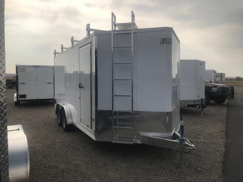 2022 EZ Hauler 7. 5 X 16 ULTIMATE CONSTRACTOR Enclosed Cargo Trailer