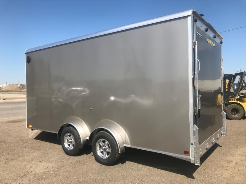 2021 Aluma AE 7.516 TANDEM AXLE Enclosed Cargo Trailer