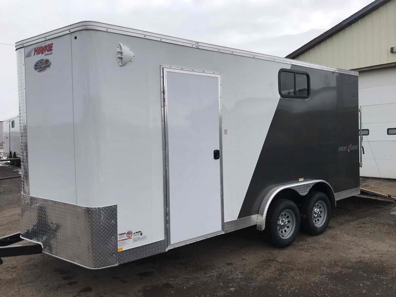 2021 Mirage Trailers XPRES 7.5 X 16  WITH RAMP Enclosed Cargo Trailer
