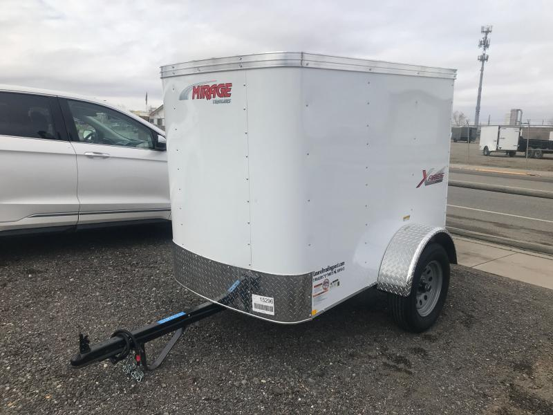 2021 Mirage Trailers XPRESS 4 X6 SINGLE AXLE Enclosed Cargo Trailer