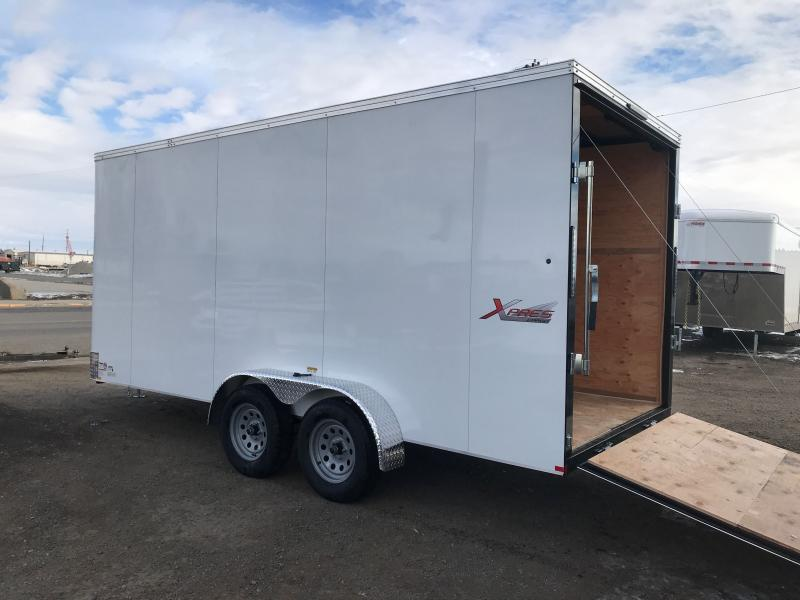 2021 Mirage Trailers XPRES 7 X 16 WITH RAMP Enclosed Cargo Trailer