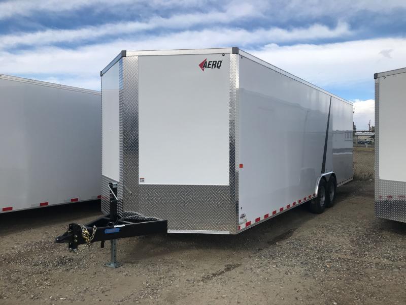 2021 AERO 8.5 X 24 BP Enclosed Cargo Trailer