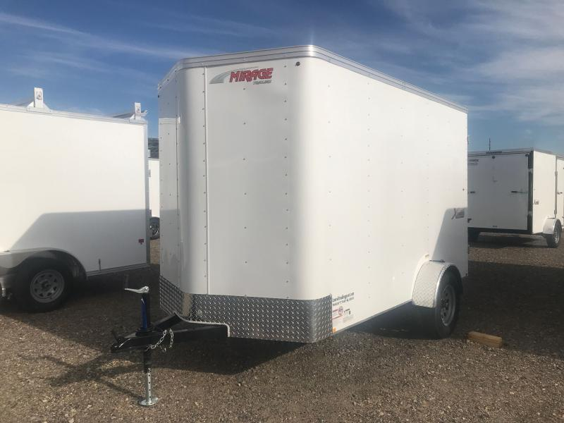 2022 Mirage Trailers 6 x 10 with DOUBLE DOORS Enclosed Cargo Trailer