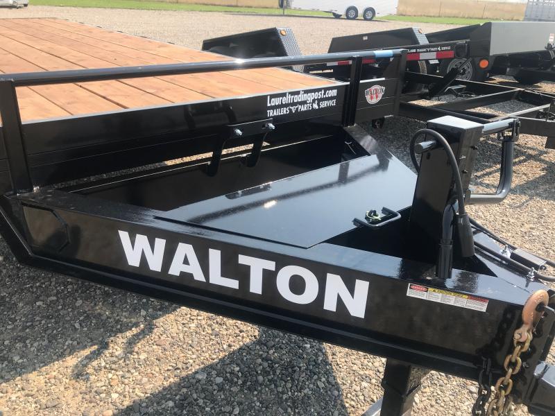 2021 Walton Trailers 20' DECKOVER BP Flatbed Trailer