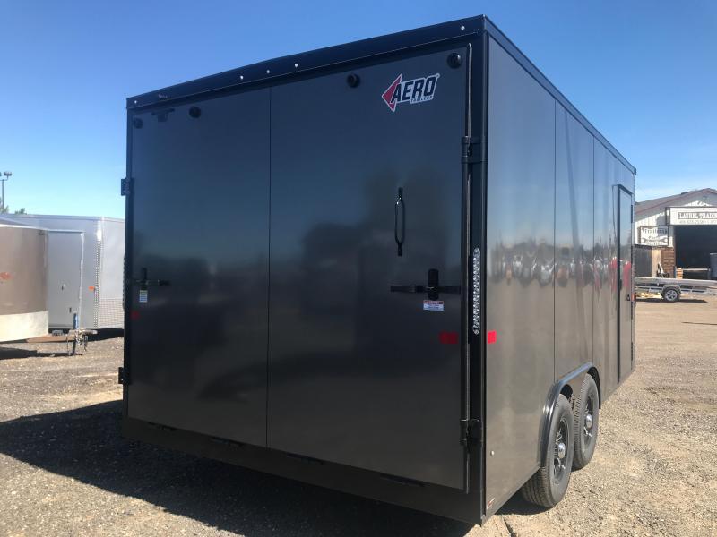 2021 AERO 8.5 X 16 Enclosed Cargo Trailer