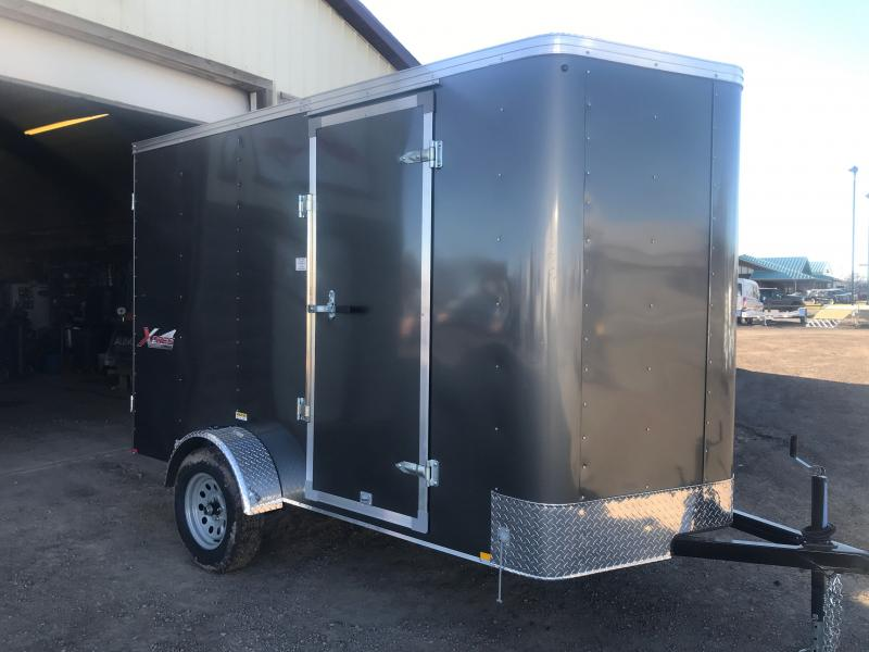 2021 Mirage Trailers XPRES 6 X 10 WITH DOUBLE DOOR Enclosed Cargo Trailer
