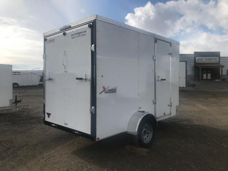2021 Mirage Trailers 6 X 10 SA WITH RAMP Enclosed Cargo Trailer
