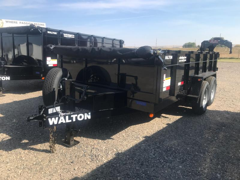 2022 Walton Trailers 14' BP DUMP Dump Trailer